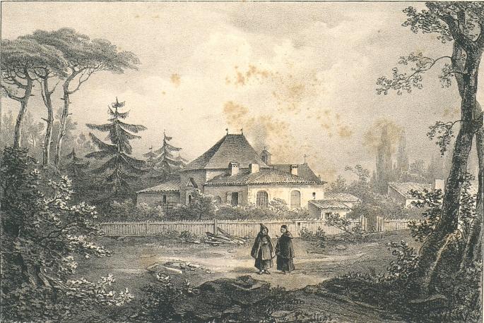 Fig. 11 Couvent des frères trapiste près de St-Médar