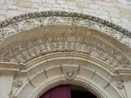Porche abbaye Saint Pierre