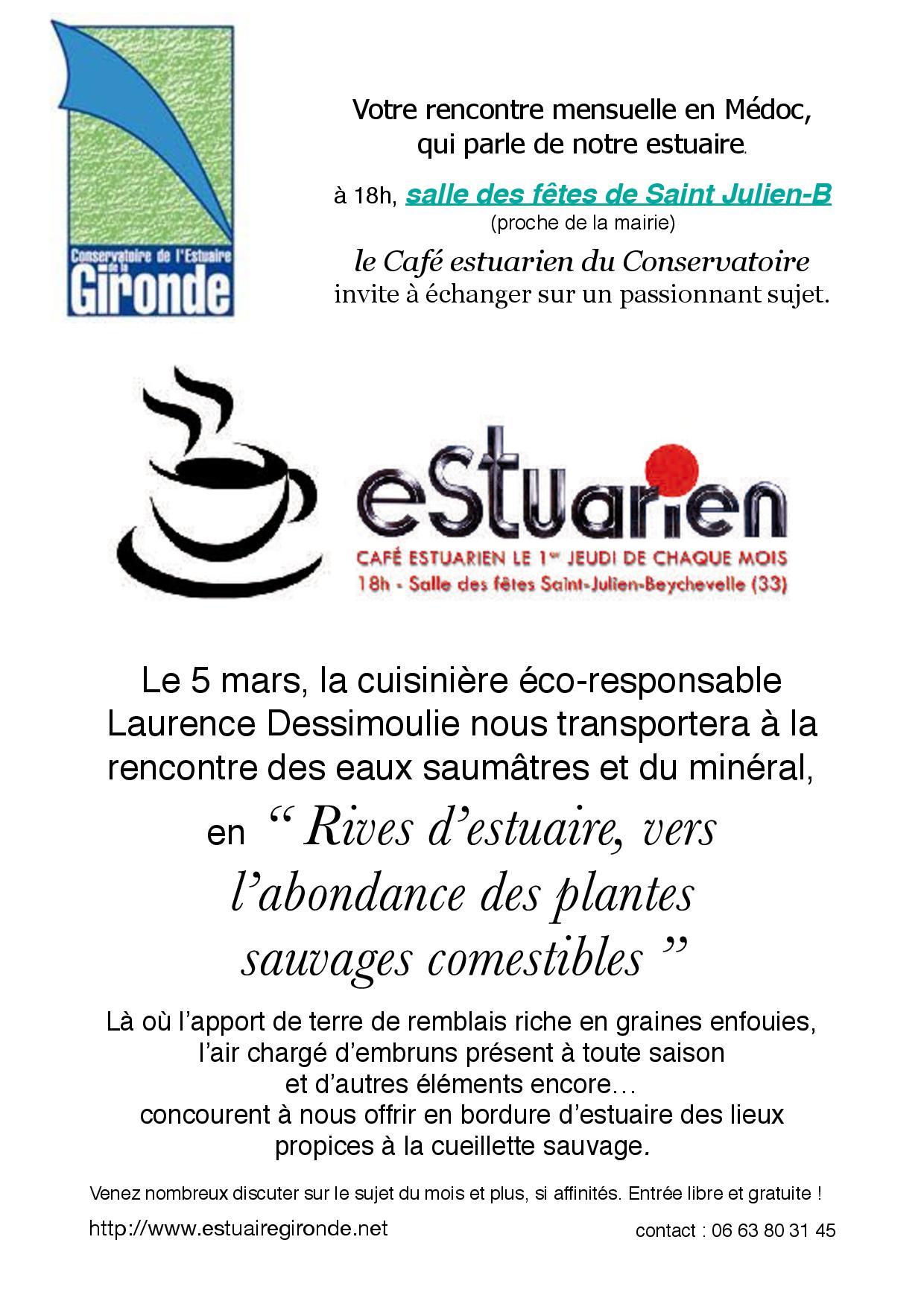 café estuarien 5 mars